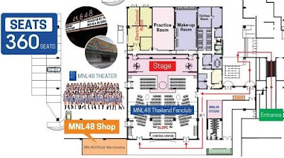 theater mnl48 location building vlog