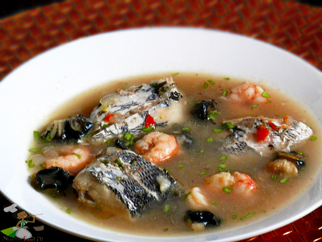 Nigerian Seafood Pepper Soup Nigerian Pepper Soup recipe tilapia catfish peppersoup