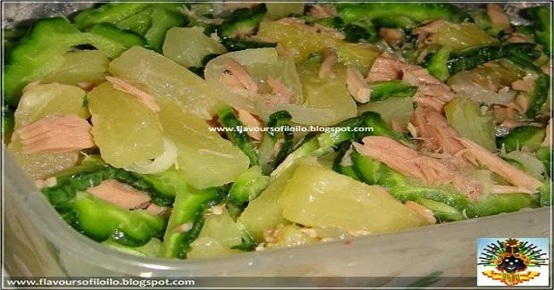 Pineapple, Ampalaya And Century Tuna Salad Recipe