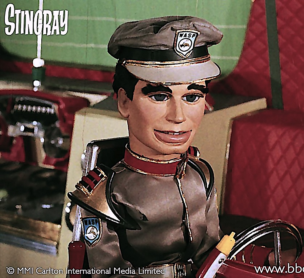 a marionette from the 1960s children's television series Stingray