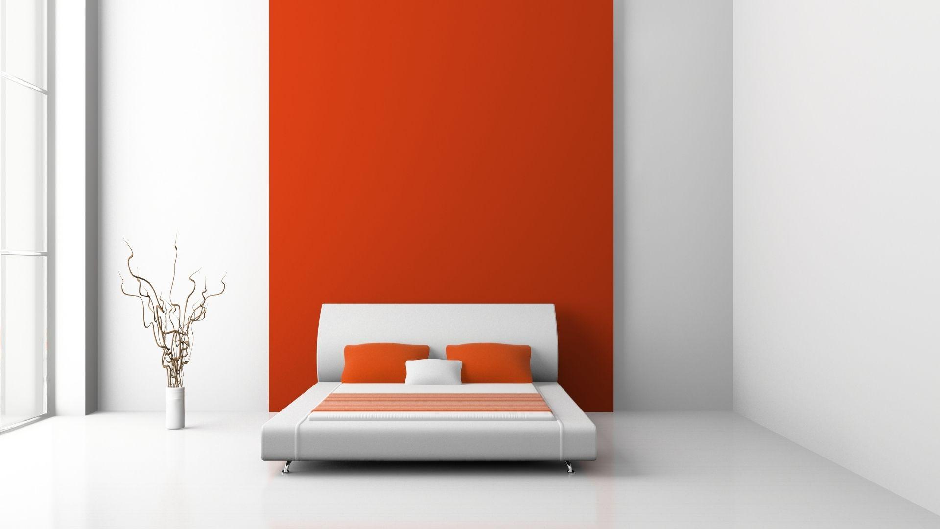 czerwona sypialnia galeria