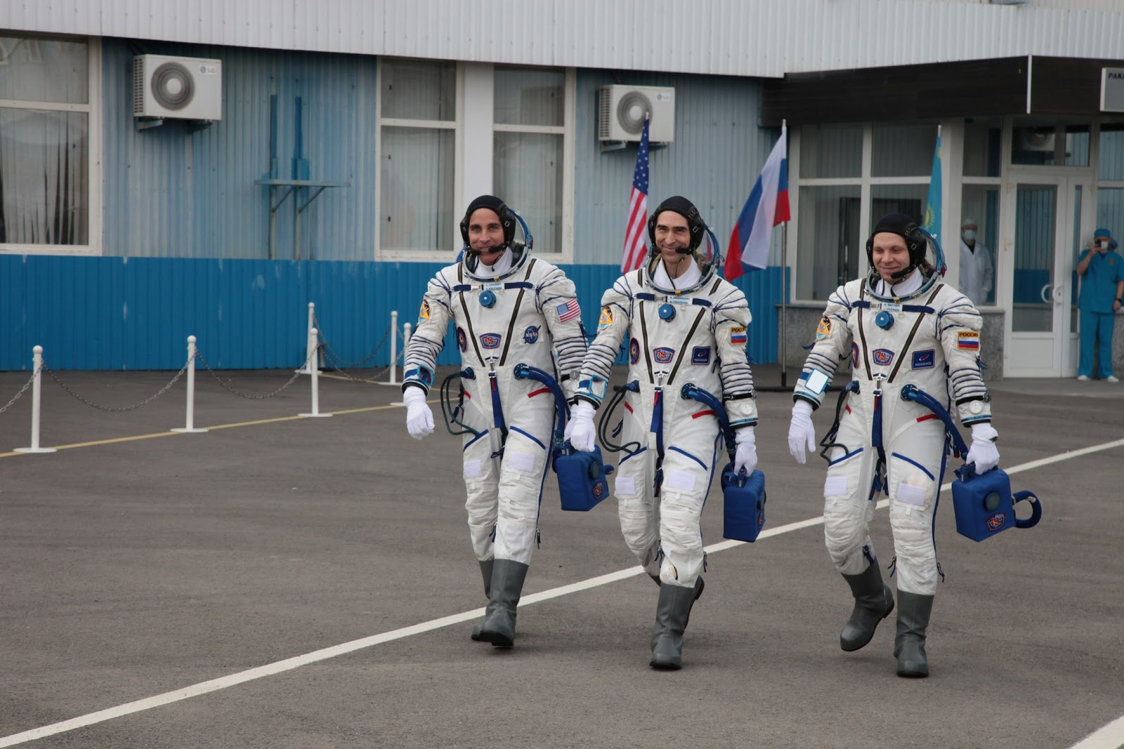 Astronauts Arrived Safely At Space Station