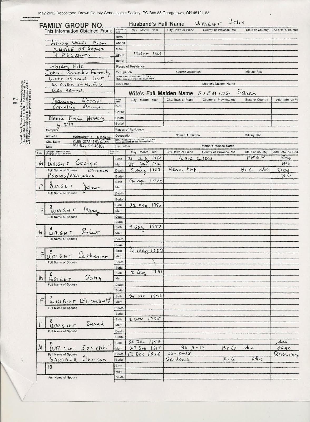 Family Tree Forms - Karen's Creations |Family History Sheet