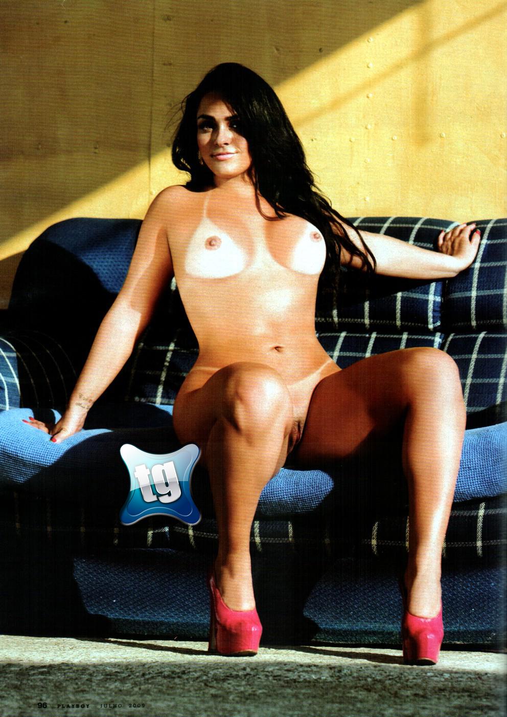 Revista sexy andressa soares a mulher melancia - 3 4