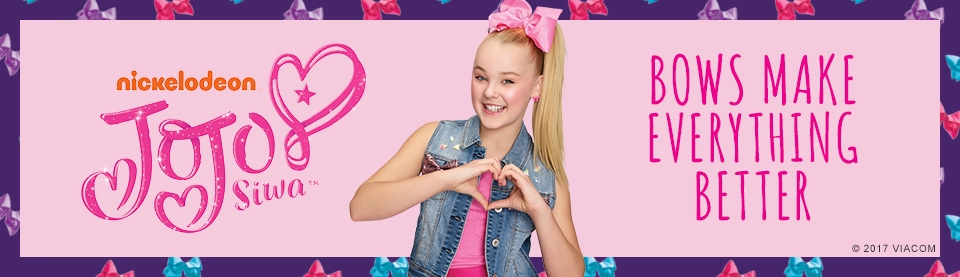 NickALive!: JoJo Siwa Launches New Bow Collection At Justice