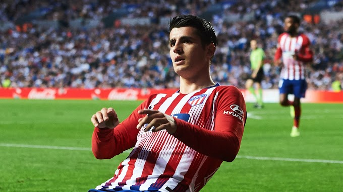 Morata scores fastest goal of La Liga season