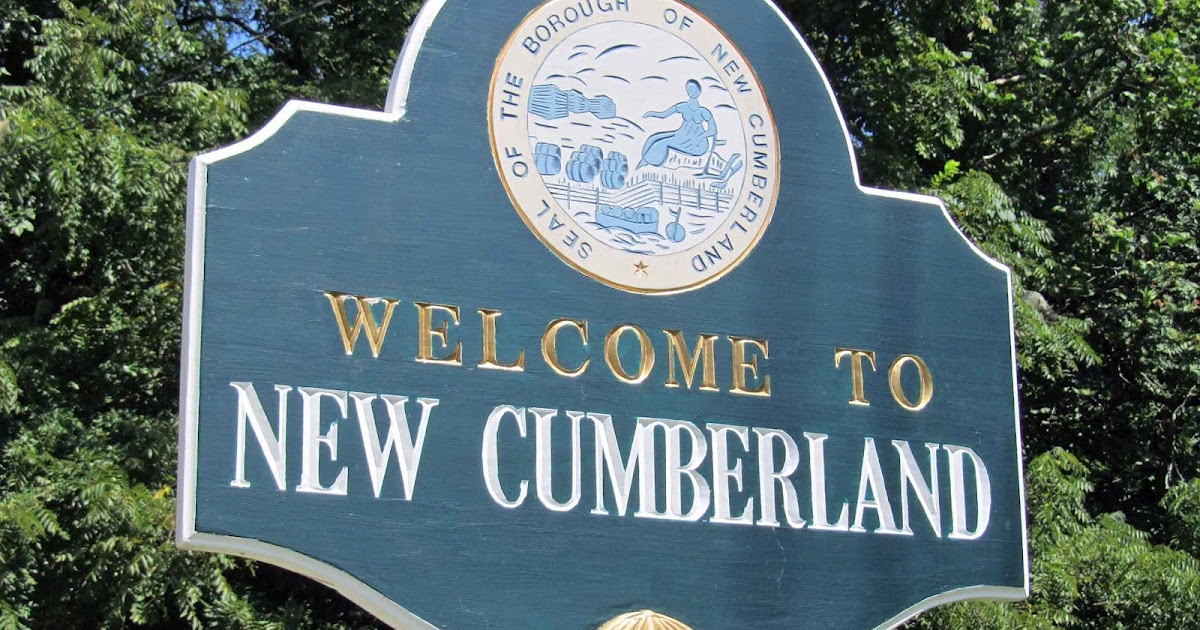 Geographically Yours Welcome New Cumberland Pennsylvania