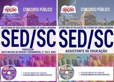 Apostila SED SC Concurso Público de Ingresso ao Magistério 2017