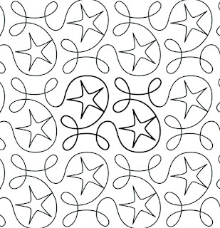 'Ginger Stars' quilt pattern by Apricot Moon