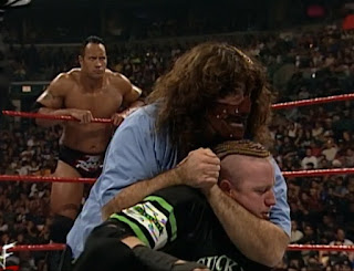 WWE / WWF Armageddon 1999 - The Rock & Sock Connection faced The New Age Outlaws