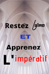 L'impératif: rules, examples and exercise with solution