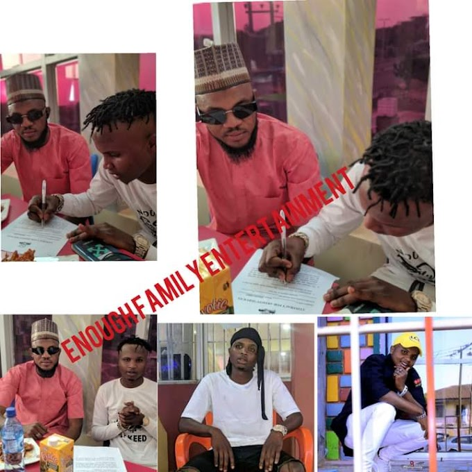 ENEWS: Arewa Artist 'Flykeed' gets signed to 'Enough Family Entertainment