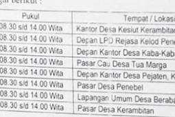 Jadwal Samsat Keliling Tabanan Juni 2019