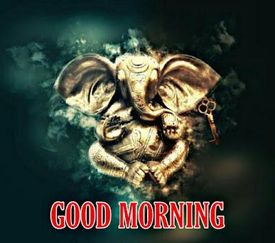 good morning god ganesha images