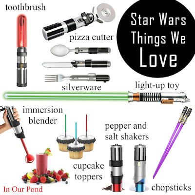 Star Wars Things We Love from In Our Pond