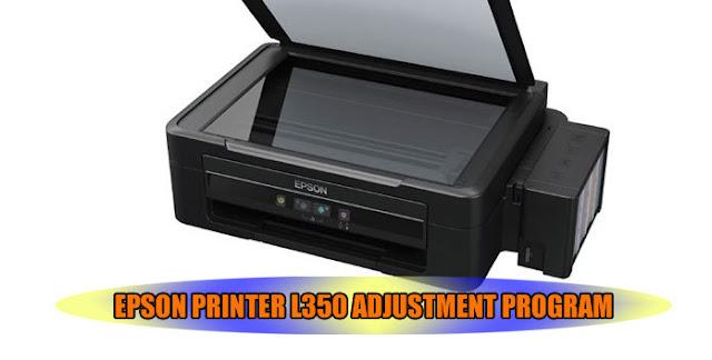EPSON L350 PRINTER ADJUSTMENT PROGRAM