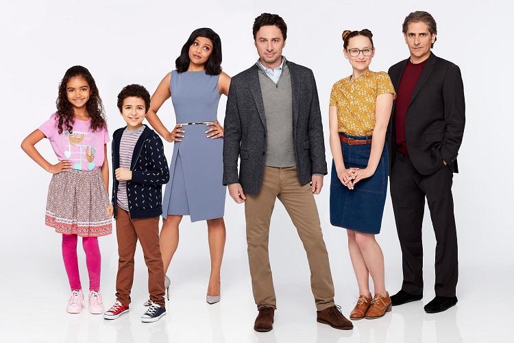 El reparto de la nueva serie de Zach Braff, Alex, Inc.