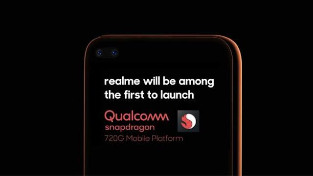 Realme yakında Qualcomm Snapdragon 720G destekli bir akıllı telefon piyasaya sürecek