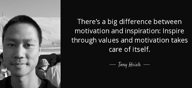 Tony Hsieh motivational quotes Zappos CEO venture capitalist frugal entrepreneur business culture bootstrapper lean