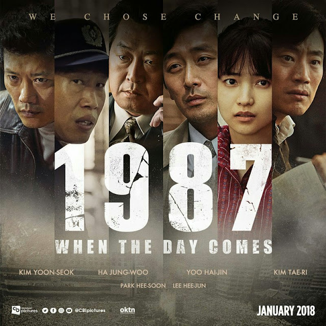 orang yang mencoba mengungkapkan kebenaran untuk menyembunyikan pembunuhan Park Jong Cheol Film Korea 1987 : When The Day Comes Subtitle Indonesia
