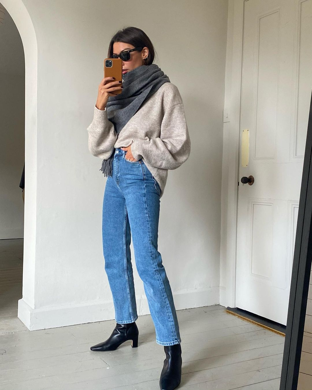 This Outfit Keeps You Warm and Chic on Chilly Fall Days