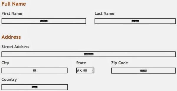 PDF Field Names