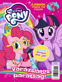 New Pinkie Pie Figure Included With This Months Magazine