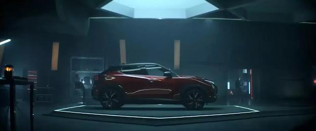 Un Nissan Juke Crossover Coupé en el laboratorio