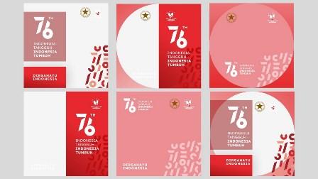 Link Download Frame Bingkai Twibbonize 17 Agustus 2021 Resmi Kemensetneg - HUT RI ke-76