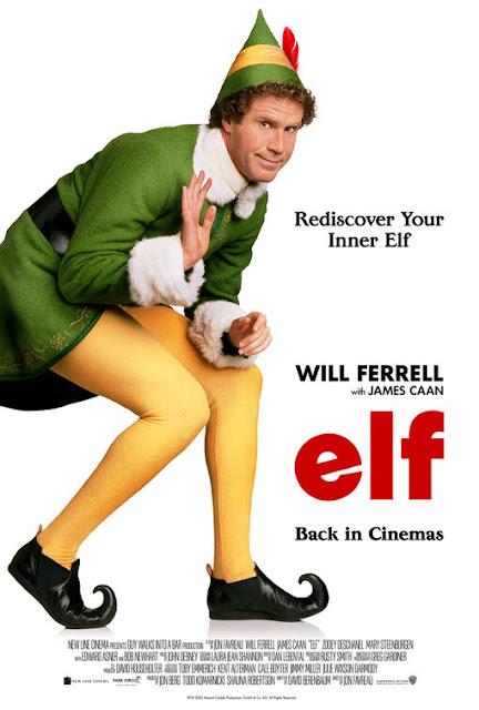 elf elfo natal poster um duende em nova iorque