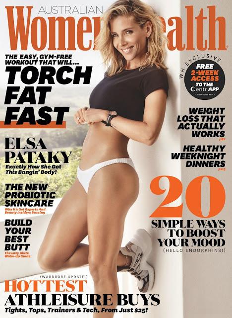 Elsa Pataky in Women's Health Magazine, Australia April 2021