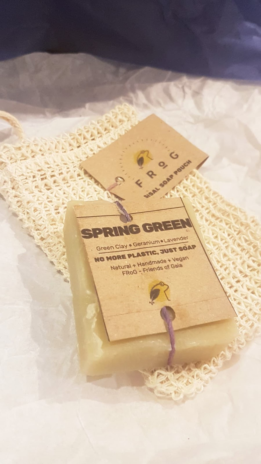 Friends of Gaia soap Review - The Natural Beauty Box