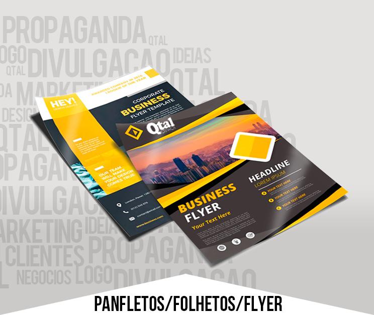 Flyer, Panfleto e Folder