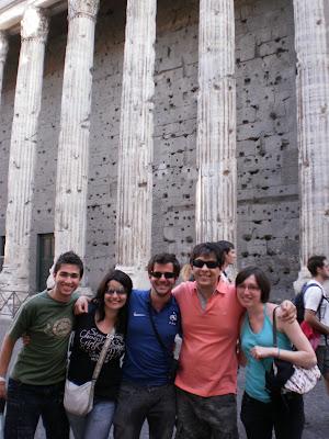 O templo de Adriano - Roma - Itália