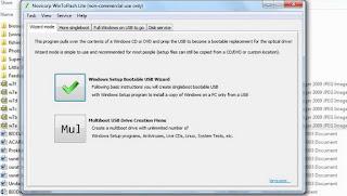 Cara Copy DVD Windows 7 ke Flashdisk supaya bootable
