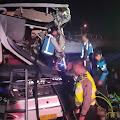 Dua Korban Tewas Dalam Laka Maut di Jalan Tol Ungaran - Bawen, Ini Kronologinya