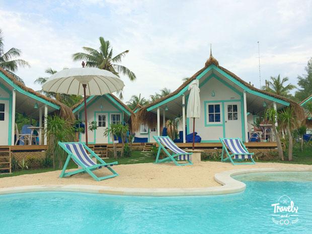 Dónde alojarse en Gili Trawangan: Le Pirate Beach Club