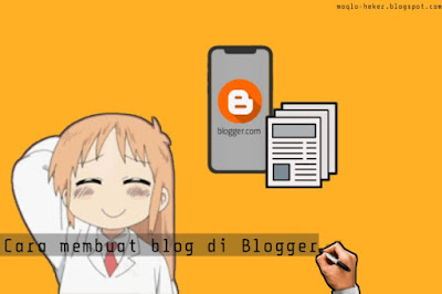 Tutorial cara membuat blog di blogger untuk pemula