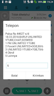 kode only for you indosat