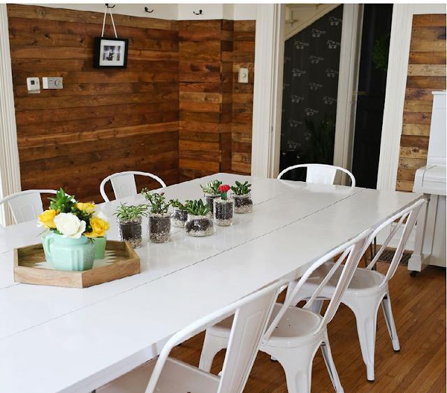 La guarida de bam ideas mesas de madera for Mesa caballete ikea