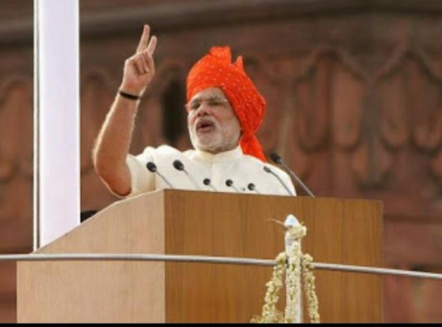 Modi thundershowers on the earth: Congress, Gujaratis always lose eye in Congress