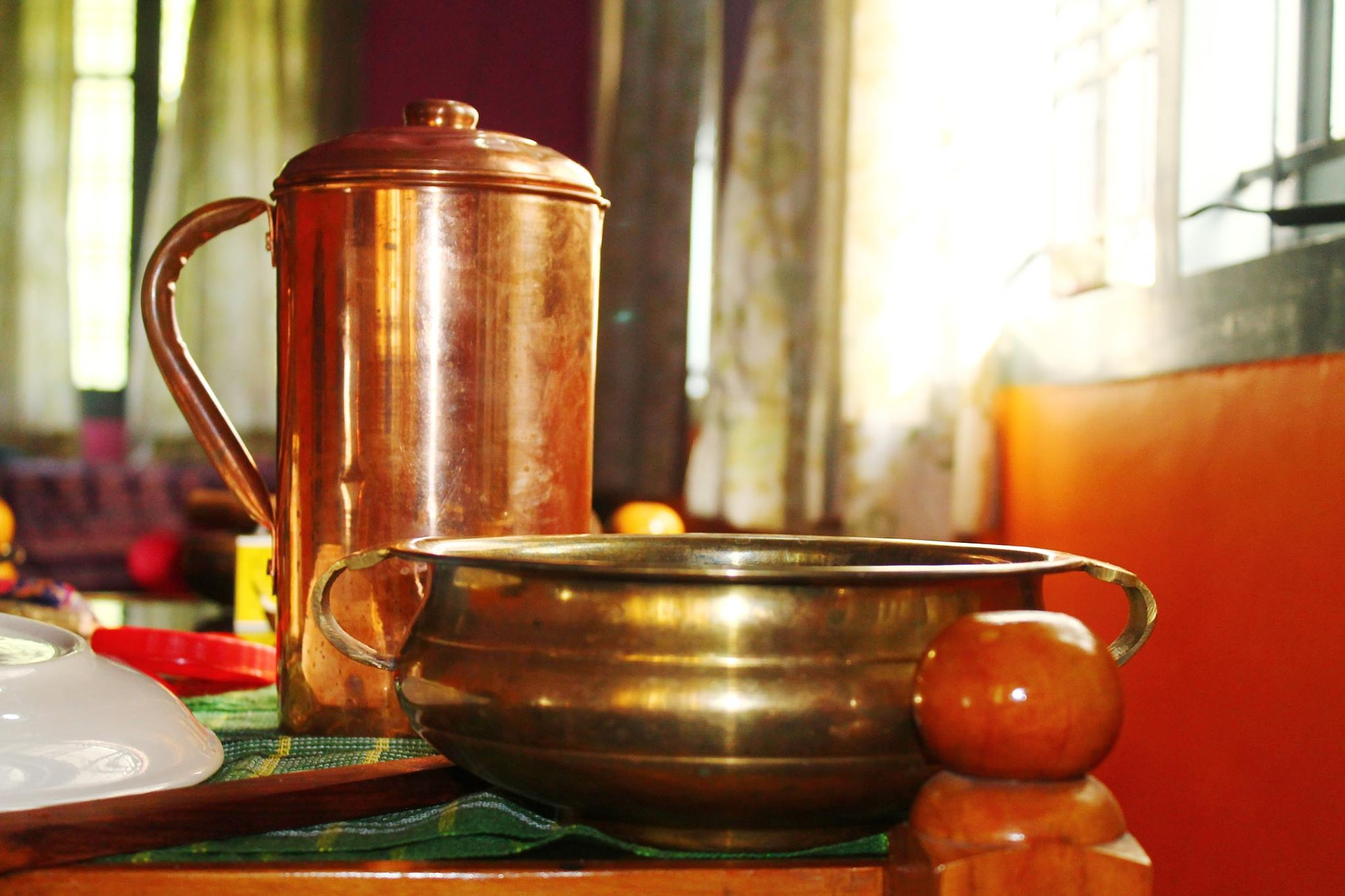 Why do we prefer drinking water from Copper Vessel?