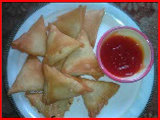 Commercial Chicken Samosa Recipe