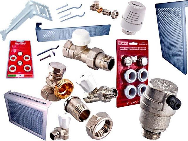 Типы радиаторных клапанов