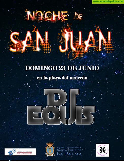 Dj Equis Noche de San Juan en Santa Cruz de La Palma
