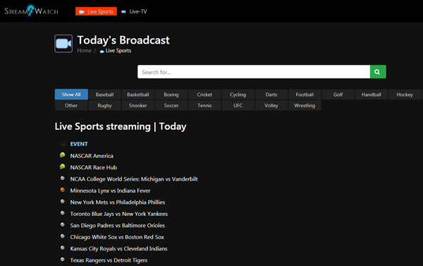 Top 21 Free Sports Streaming Sites To Watch Live Sports ...