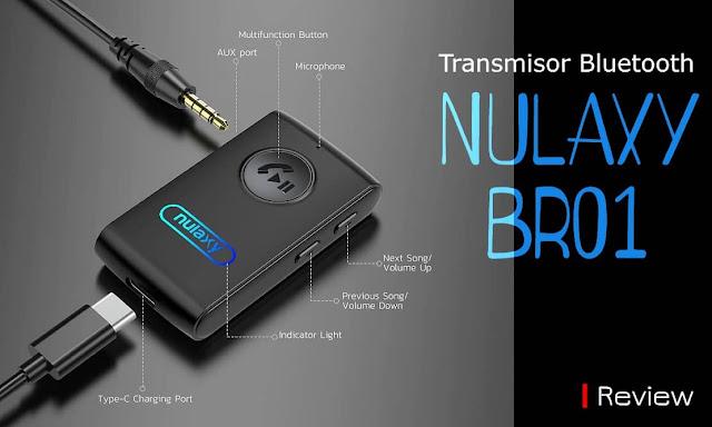 Transmisor Bluetooth NULAXY BR01