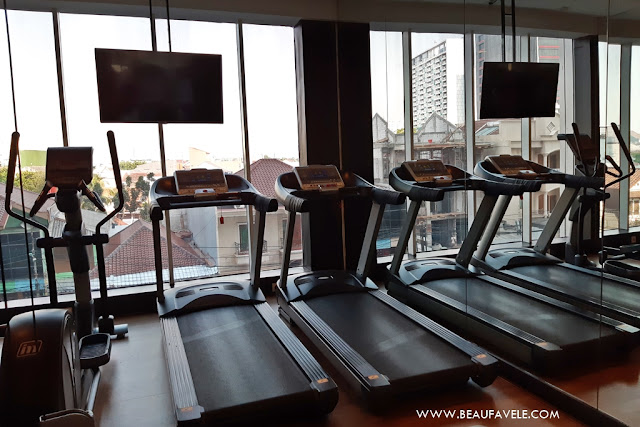 Ruang Fitness di Best Western Premier The Hive Hotel Jakarta