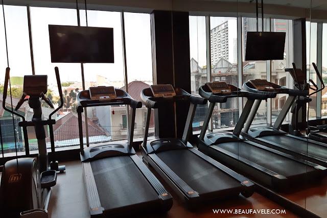 Ruang Fitness di Best Western Premier The Hive Hotel Jakarta