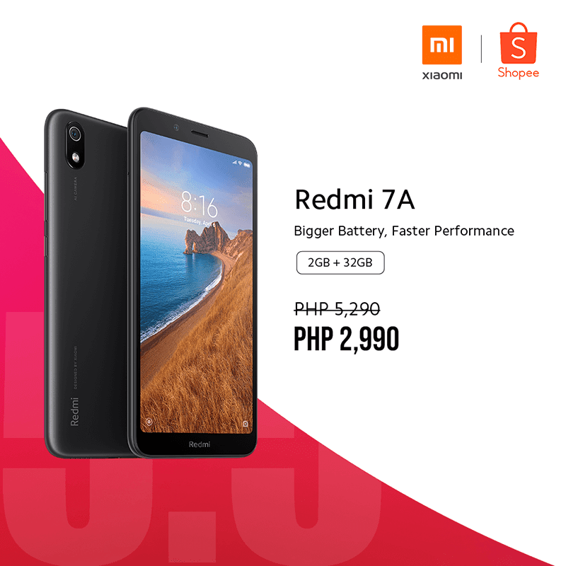 Redmi 7A Shopee deal
